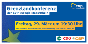Flyer Grenzlandkonferenz.29.03.2019